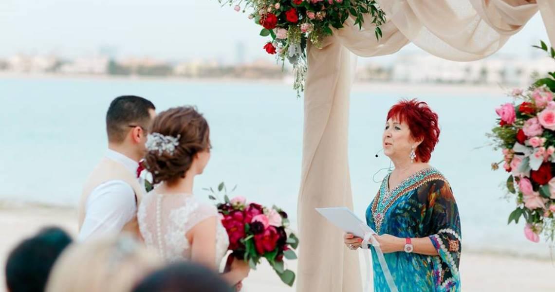 Beach Wedding Atlantis Dubai