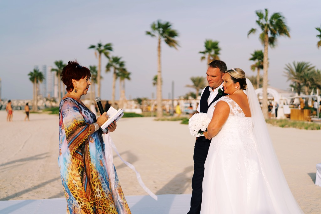 Beach Wedding Nikki Beach Dubai