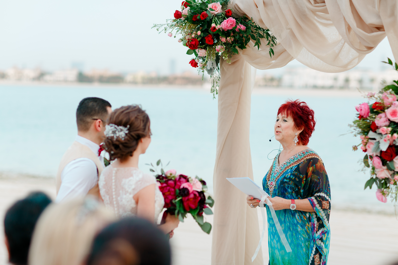 Beach Wedding Atlantis Hotel Dubai